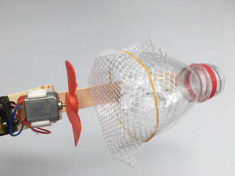 Happyxuan DIY Vacuum Cleaner Listrik Pendidikan Prasekolah Percobaan Sains untuk Anak-anak Anak Kreatif Ilmiah Mainan