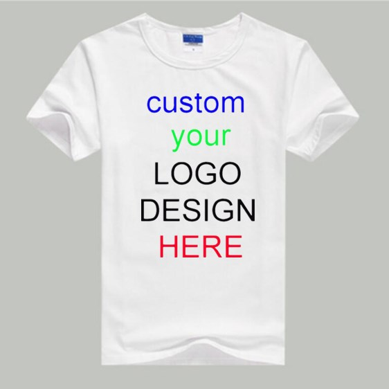 Custom T Shirt ALP Customized T shirt Print Your Own Design DIY Photo Text Logo High Quali boY  children T