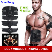 Multi Function EMS Abdominal Exerciser Device Hous Abdominal Muscles Intensive Training Electric Weight Loss Slimming Massager