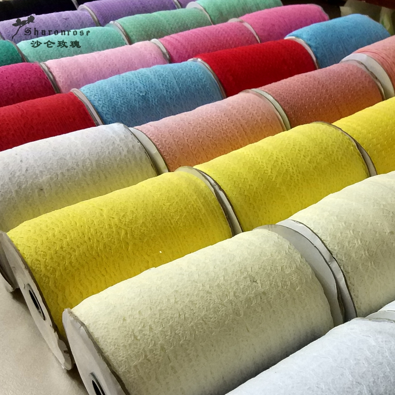 10 Yards 9 1m lot colorful Polyester lace Ribbon Embroidered Net lace Trim for Sewing clothing wedding Decoration Scrapbooking in Lace from Home Garden