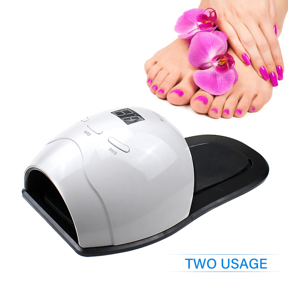 Nails Art & Tools Beauty & Health Rainbow 4 48w Smart 2.0 Uv Lamp Nail Toenails Menicure Sun Led Nail Lamp Automatic Sensor Nail Dryer Curing All Gel