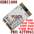 Gobi1000 FRU 42T0961 3G wwan Card 7.2Mbps+GPS for ThinkPad X200 X301 Unlocked