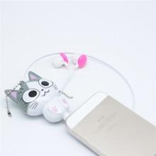NEW Panda Cat Cartoon retractable earphones for mo