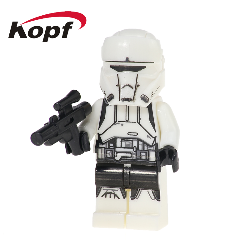 XH 452 Wars Imperial Hovertank Pilot Jyn Erso Rogue One Imperial Army Building Blocks Best Education Gift Toys For Children
