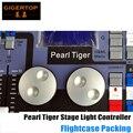 Tigre perla Consola para la Luz Led Par Luz de la Etapa/Luz Principal Móvil Paquete Flightcase Compatible Perla 2004 2008 Perla experto