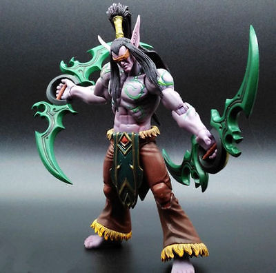 Heroes of the Storm The Betrayer illidan Stormrage Action Toy Figure Doll New A# Toy Collectibles Model Doll 248  legion illidan heroes of the storm pvc action figure collectible model toy 7 18cm kt1816