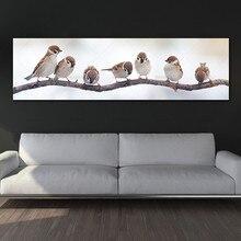 Настенная Картина на холсте Художественная печать птицы на холсте и плакаты Картина Настенная живопись украшение для гостиной без рамки