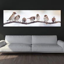wall picture canvas painting art print birds on canvas and posters picture wall art Painting decoration for living room no frame(China)