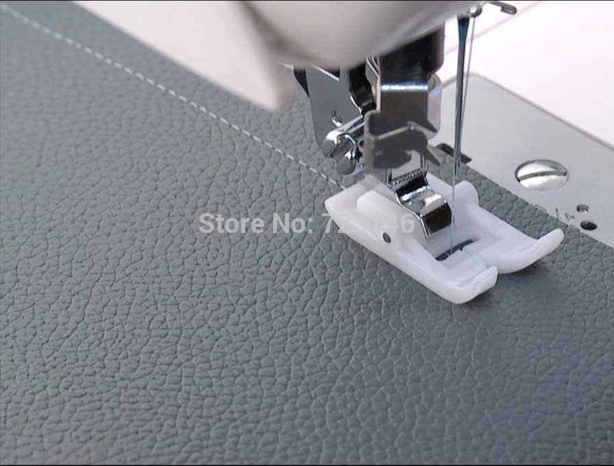 MADE IN TAIWAN SINGER NON STICK SNAP ON PRESSER FOOT Feet Domestic Awesome Snap On Sewing Machine Feet