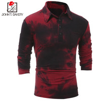 New Autumn Fashion Brand Men Clothes Slim Fit Men Long Sleeve T Shirt Men Printing Cotton