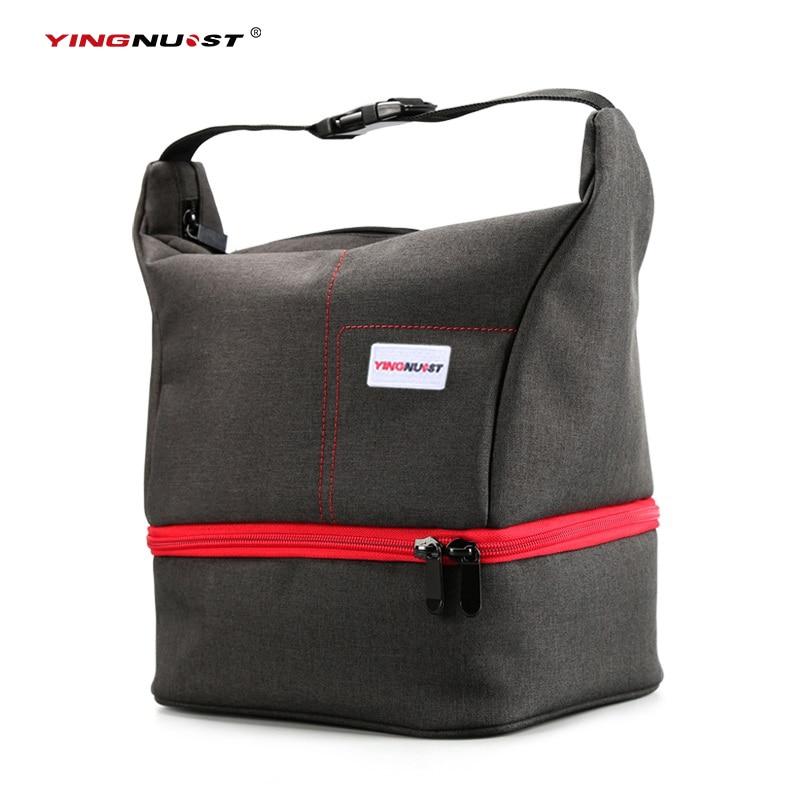 Y45 Nylon Waterproof font b Digital b font Camera Case Travel Bags Handbag Soft Photo Bag