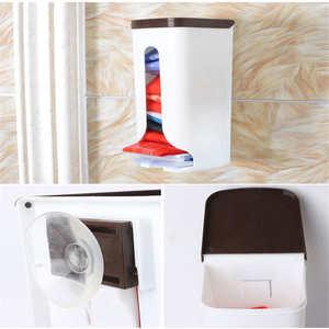 Image 5 - Bolsas de basura creativas para el hogar, estante de almacenamiento, Caja de almacenamiento montada de pared, cocina, dormitorio, baño, bolsas de basura, organizador de almacenamiento