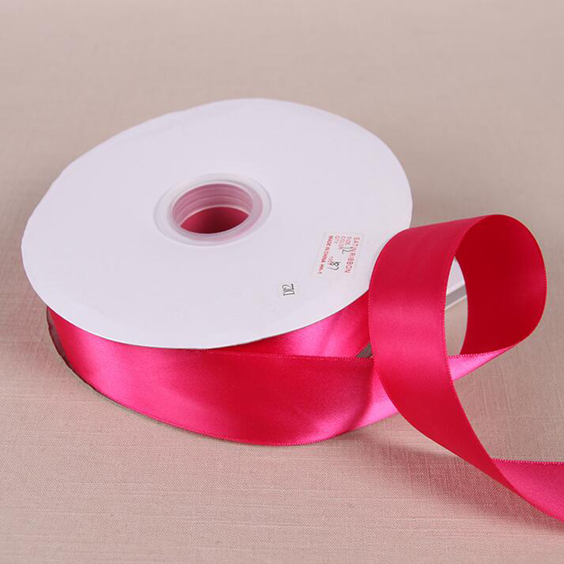 100 Yards Roll 6 Mm 50 Mm Width Polyester Silk Fabric Satin Ribbon