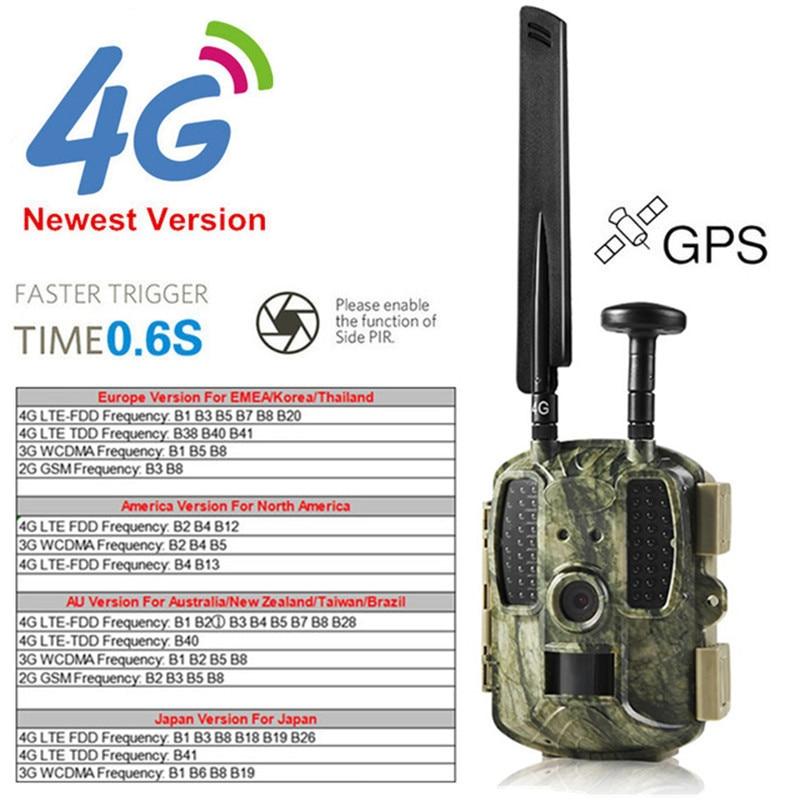 Newest GPS Hunting Camera Digital Video Camera Photo-Traps 4G FDD-LTE Hunting Trail Camera Trap Wild Camera Hunter Foto Chasse (2)