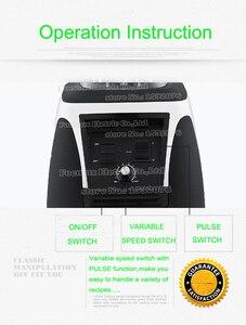 Image 5 - EU/Mỹ/Anh/Âu Cắm Không Chứa BPA 3HP 2200W Công Suất Mạnh Thương Mại Máy Xay Sinh Tố Trộn Máy Ép Trái Cây Cao Cấp công Suất Thực Phẩm Làm Sinh Tố Thanh Hoa Quả