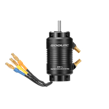 Original GoolRC 2968 3400KV Brushless Motor and 29 L Water Cooling Jacket Combo Set for 600