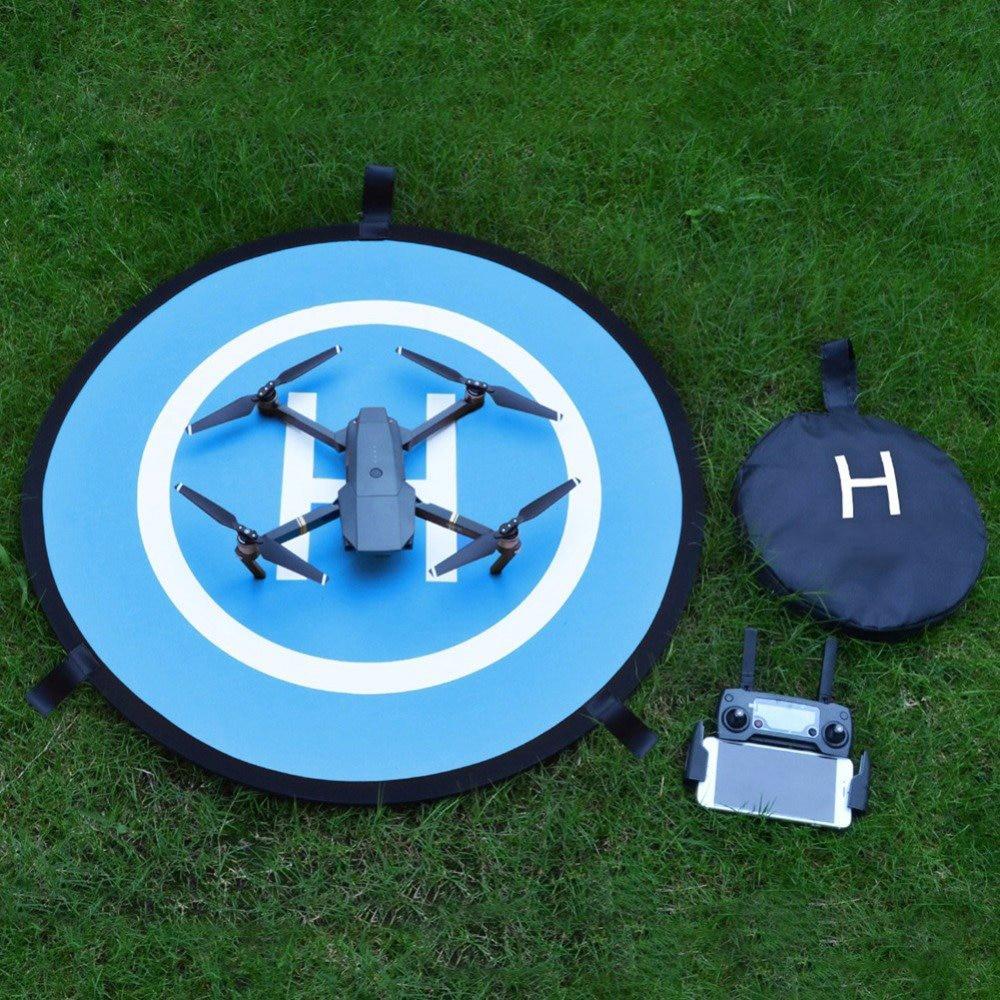 Sunnylife 75cm RC Drone Parking Apron Mini Fast-fold Landing Pad for DJI SPARK Mavic Pro Phantom 3 4 Inspire 1 Helipad