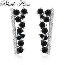 Черные awn Горячие 2020 милые стерлингового серебра 925 черный