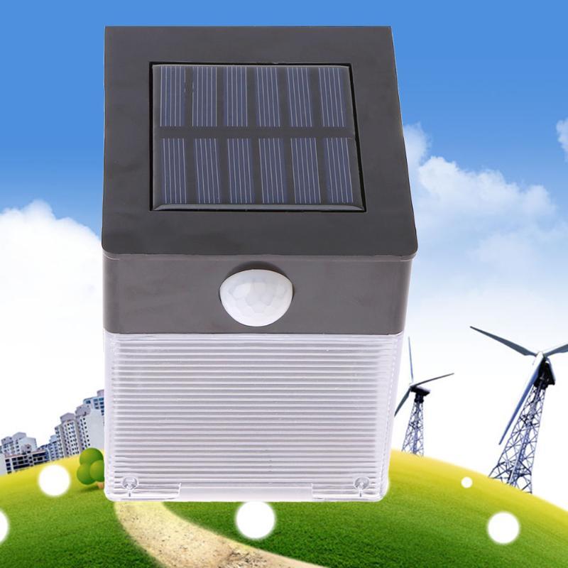 IP65 Waterproof 12 LED Solar Powered Light Smart PIR Motion Sensor Wall Lamp Energy Saving Outdoor Garden Fence Lights