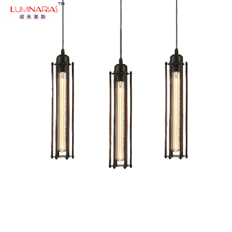 Vintage Pendant Light Loft Pendant Lamps Retro Hanging Lamp Lampshade For Restaurant Bar Coffee Shop Home Lighting Luminarias new loft vintage iron pendant light industrial lighting glass guard design bar cafe restaurant cage pendant lamp hanging lights
