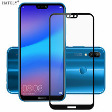 2PCS Screen Protector Huawei P20 Lite Glass Tempered Full Glue Coverage Film