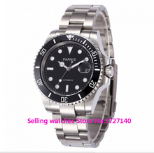 40mm Parnis Ceramic Bezel Luminous Mark Automatic Watch p002