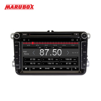MARUBOX 2Din Android 6 0 1 For Volkswagen Polo 5 Passat B6 Golf Skoda Car Multimedia