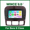 Автомобиль DVD GPS для MERCEDES/BENZ W215 W220 S280 S320 S350 S400 S420 S450 S500 S550 S600 S55 S63 с Радио BT Ipod поддержки 3 Г wi-fi