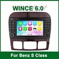 GPS carro DVD para MERCEDES/BENZ W215 W220 S280 S320 S350 S400 S420 S450 S500 S550 S600 S55 S63 com Radio BT Ipod suporte 3G wi-fi