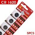 + Menor Preço ++ Pilha Montre + + Venda de Hot + 5 Pcs 3 V Células de Lítio Coin Botão Bateria CR1620 1620 ECR1620 KCR1620 BR1620 21