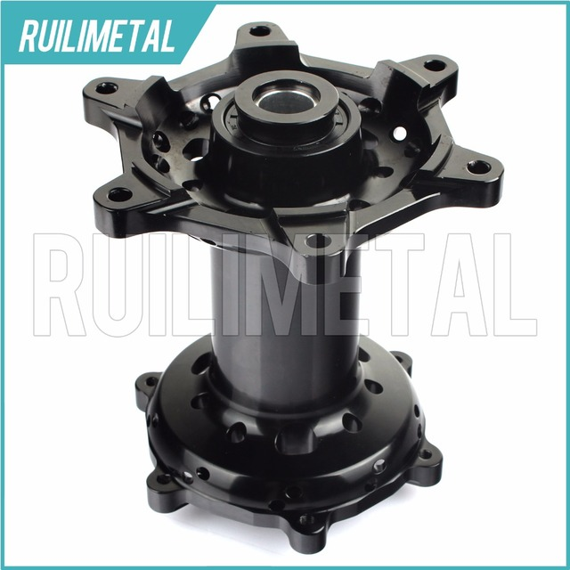 Rear Black Wheel Hub For KTM SX EXC SXF 125-530 150 200 250 300 350 400 450 525 Aluminium 03 04 05 06 07 08 09 10 11 12 13 14