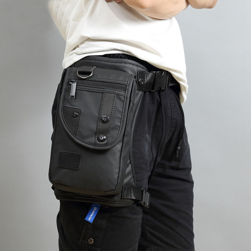 Cycling Waist Packs Leg Bag Waterproof Motorcycle Funny Drop Belt Pouch Fanny Pack bag for Men