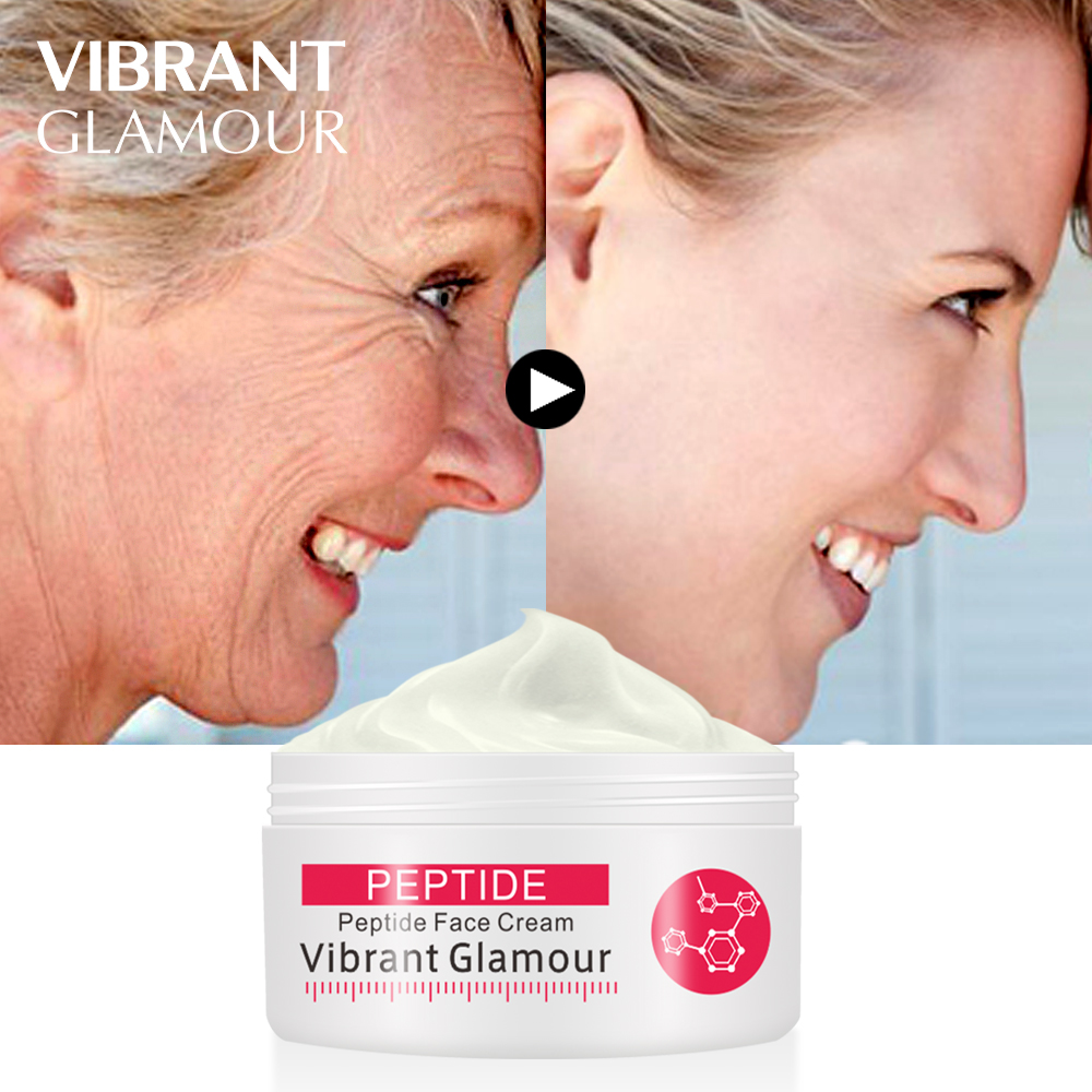 VIBRANT GLAMOUR  Face Cream Argireline Pure Collagen Cream Anti-wrinkle Firming Anti Aging Anti Acne Whitening Moisturizing Skin(China)