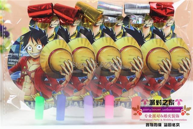 One Piece birthday party boy happy birthday party decoration