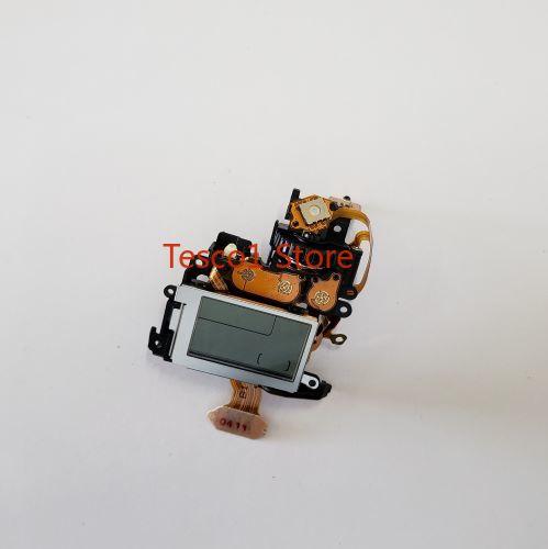 Tout nouveau original pour le groupe d'affichage LCD de couverture supérieure Canon EOS 760D, pièce de réparation de groupe d'écran d'épaule
