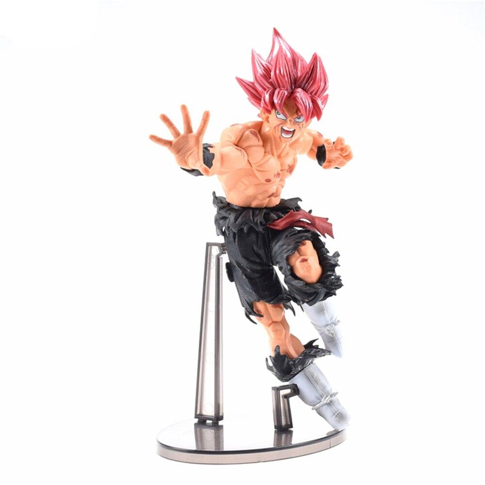 Toys & Hobbies Dragon Ball Z Action Figure Toy God Super Saiyan Black Son Goku Gokoucollection Dbz Model Gift Activating Blood Circulation And Strengthening Sinews And Bones