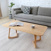 Creative living room simple wooden small coffee table wooden solid wood coffee tea table