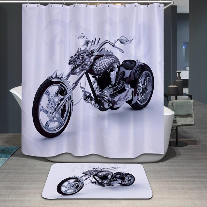 Rideaux de douche de bande dessinée de haute qualité polyester - Marchandises pour la maison - Photo 3