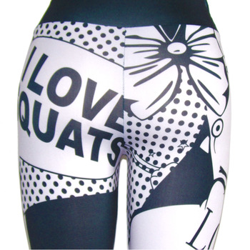 I LOVE SQUATS Fitness leggings