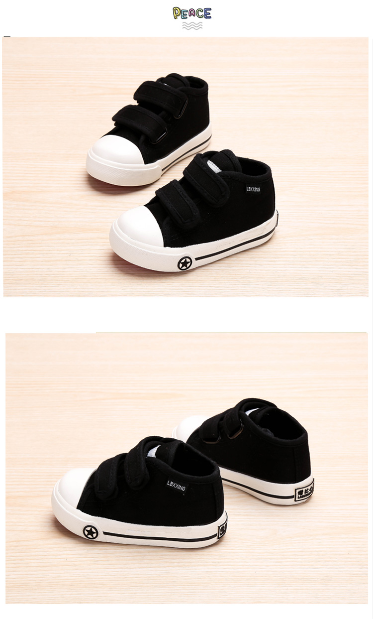 LABIXIAOXING Baby White Canvas Shoes 4 Colors kids Baby Girls and Boys Casual Shoes Flat and Durable Sneakers 10