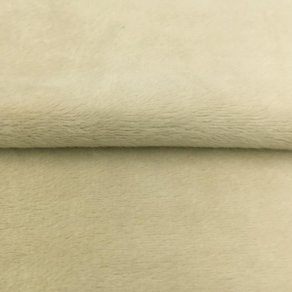 HTB12KoElyQnBKNjSZFmq6AApVXa7 ZYFMPTEX 45x50cm Pile Length 3mm Soft Short Plush Handwork DIY Doll Winter Clothes Thickness Antipilling Plush Fabric 40 colors