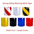 Strong 15cm*3meter Reflective Strips Car Stickers car-styling Motorcycle decoration Automobiles Safety Warning Mark Tape