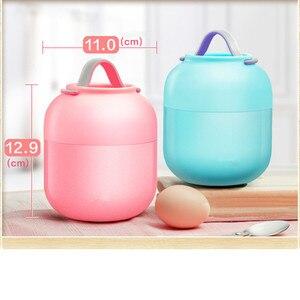 Image 2 - Caixa de Almoço quente kid Babys Talheres Sopa Panela Panela de Cozido Isolamento Chaleira Portátil Tigela de Aço Inoxidável Recipiente de Alimento do Vácuo