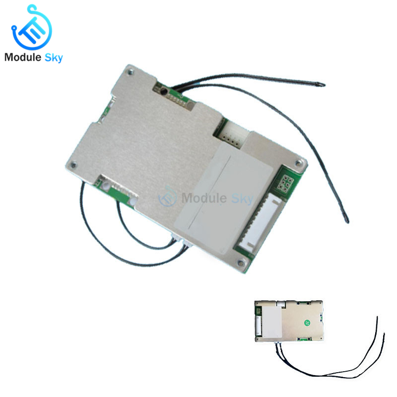 BMS 7S 30A 40A 60A 18650 Lithium Battery Charger Protection Board Module Power Bank Charger Battery Active Balancer