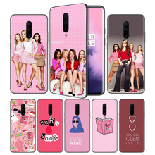 Mean girls Soft Black Silicone Case Cover for OnePlus 6 6T 7 Pro 5G Ultra-thin TPU Phone Back Protective