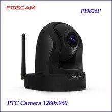 Yeni Foscam FI9826P 3x Optik Zoom H.264 1.3 Megapiksel HD Pan/Tilt/Zoom Gözetleme Kamera CCTV Sistemi PTZ kamera