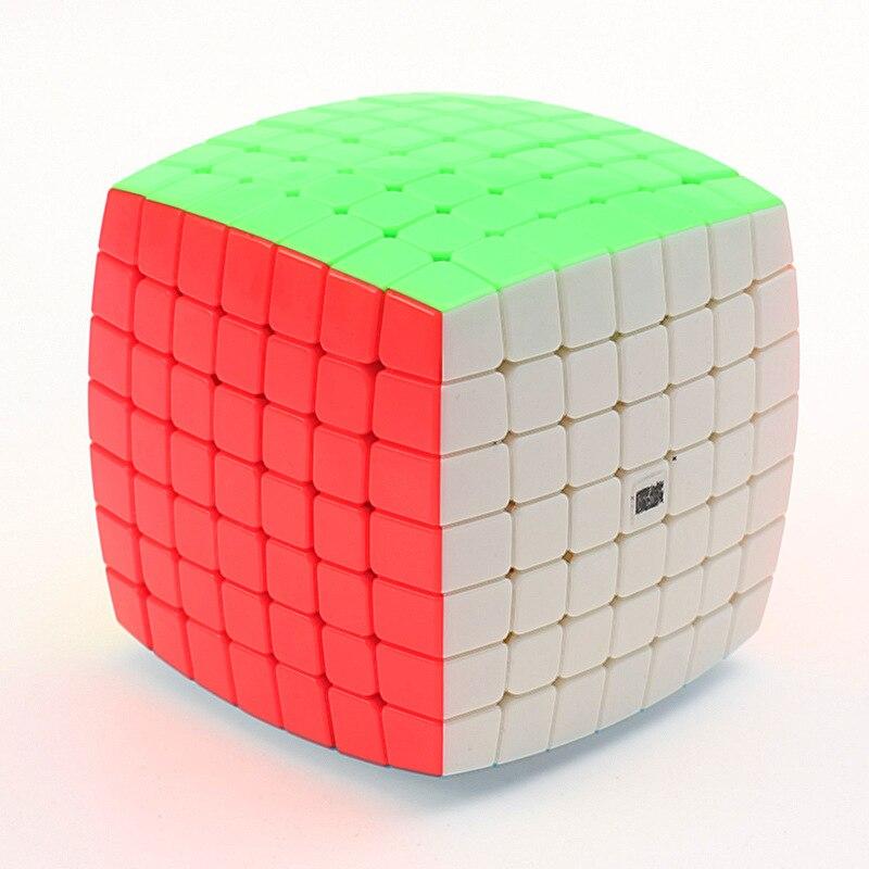AoFu YJ MoYu 7X7X7 Velocidade Enigma Cube Torção Profissional Cubos Cubo Magico Clássicos Brinquedos Educativos de Aprendizagem Kid Presentes Navio Livre