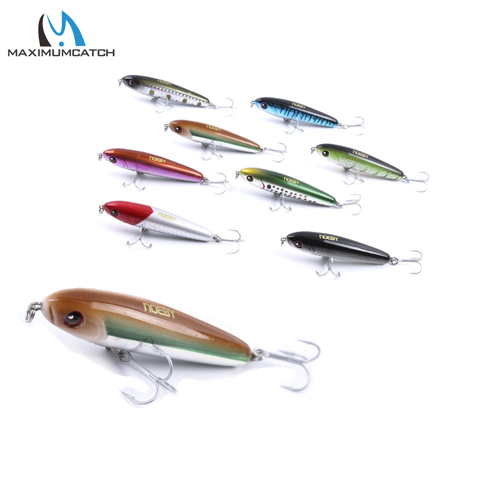 NOEBY Minnow 75mm 28g Fishing Lures Sinking0.5-1.8m Leurre Dur Peche Hard Baits Souple Shad with France VMC hook noeby nbl9062 fishing lures 66g 140mm pencil sinking leurre peche mer brochet hard fishing bait