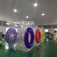 Надувные водные ролики надувной шар для ходьбы по воде ПВХ надувной шар для катания ходьба Зорб спортивный шар водный шар бесплатно насос