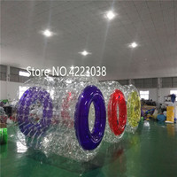 Inflatable Water Rollers Water Walking Ball PVC Inflatable Roller Ball Walking Zorb Sports Ball Water Balloon Free a Pump